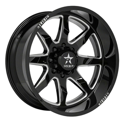 RBP Wheels 81R Saharan - Black Milled Rim