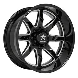 RBP Wheels 81R Saharan - Black Milled - 20x9