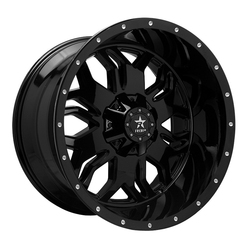RBP Wheels 87R Blade - Gloss Black - 24x12