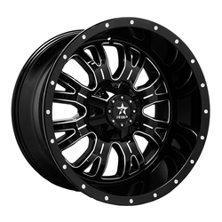 RBP Wheels 89R Assassin - Gloss Black/Milled Rim