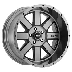 SOTA Offroad Wheels A.W.O.L. - Anthracite Black - 22x12