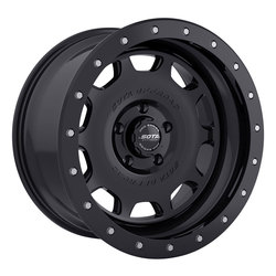 SOTA Offroad Wheels D.R.T. - Stealth Black (Satin Black) - 17x8.5