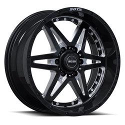 SOTA Offroad Wheels Draeger - Death Metal (Black Milled)