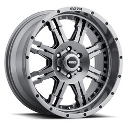 SOTA Offroad Wheels Jato - Anthra-Kote Black (Anthracite Black) - 22x12