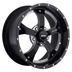 SOTA Offroad Wheels Novakane - Death Metal (Black Milled) - 22x10.5