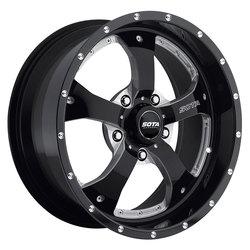 SOTA Offroad Wheels Novakane - Death Metal (Black Milled)