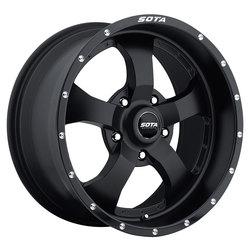 SOTA Offroad Wheels Novakane - Stealth Black (Satin Black)