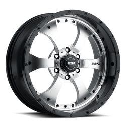 SOTA Offroad Wheels Novakane - Black / Machined Face