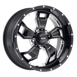 SOTA Offroad Wheels S.C.A.R. - Death Metal (Black Milled)