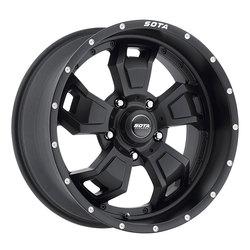 SOTA Offroad Wheels S.C.A.R. - Stealth Black (Satin Black)