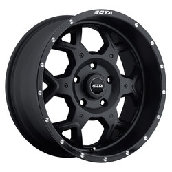 SOTA Offroad Wheels S.K.U.L. - Stealth Black (Satin Black)