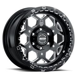 SOTA Offroad Wheels SKUL-R - Death Metal (Black Milled)