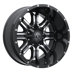 TIS Wheels 535MB - Gloss Black / Mirror Machined Face Rim