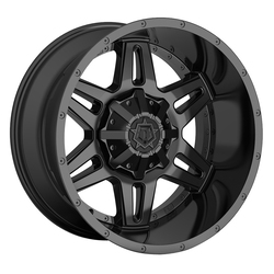 TIS Wheels 538B - Satin Black Rim