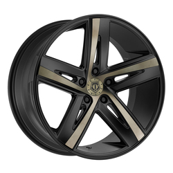 TIS Wheels 541BZ - Satin Bronze Tint Face with Satin Black Accents Rim
