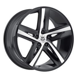 TIS Wheels TIS Wheels 541MB - Mirror Machined Face with Gloss Black Accents