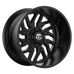 TIS Wheels 544B - Black Rim