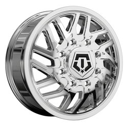 TIS Wheels 544C Dually Front - Chrome Rim