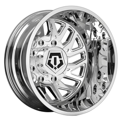 TIS Wheels 544C Dually Rear - Chrome Rim