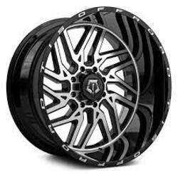 TIS Wheels 544MB - Machined Gloss Black Rim