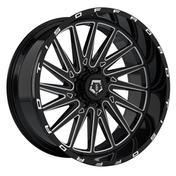 TIS Wheels 547BM - Machined Gloss Black Rim