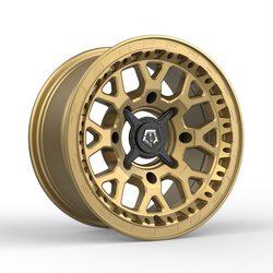 TIS Wheels UTV 558BZ - Satin Bronze Rim