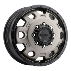 Ultra Wheels 017 Warlock Dually - Dark Satin Bronze w/ Satin Black Lip & Satin Clear Coat Rim - 16x6