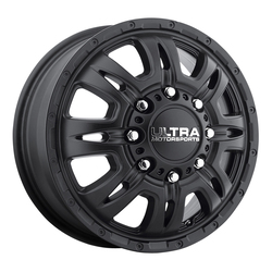 Ultra Wheels Ultra Wheels 049 Predator Dually - Satin Black and Satin Clear Coat