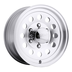 Ultra Wheels 062 Smooth Mod Trailer - Machined w/ Clear Coat Rim - 14x5