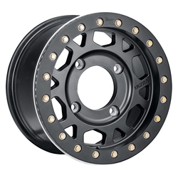 Ultra Wheels Ultra Wheels 103 Xtreme UTV - Satin Black / Satin Black Beadlock