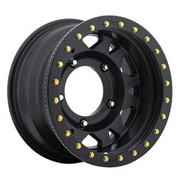 Ultra Wheels 103 Xtreme Wide 5 True Beadlock - Satin Black / Satin Black Beadlock Rim - 15x4.5