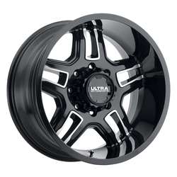 Ultra Wheels Ultra Wheels 153 Armageddon - Gloss Black w/ Cut Accents