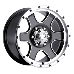 Ultra Wheels Ultra Wheels 174GN - Anthracite Grey w/Cut Accents