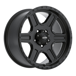 Ultra Wheels Ultra Wheels 176 Vagabond - Satin Black w/ Satin Clear Coat