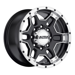 Ultra Wheels Ultra Wheels 178 Mongoose - Satin Black & Satin Clear Coat