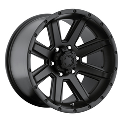 Ultra Wheels Ultra Wheels 195 Crusher - Satin Black & Satin Clear Coat