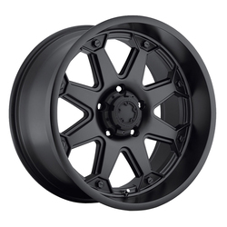 Ultra Wheels Ultra Wheels 198 Bolt - Satin Black & Satin Clear Coat