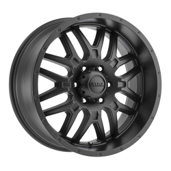 Ultra Wheels Ultra Wheels 203 Hunter - Satin Black w/ Satin Clear Coat