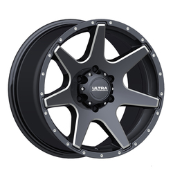 Ultra Wheels Ultra Wheels 205 Tempest - Gloss Black w/ Milled Accents & Clear Coat