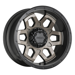 Ultra Wheels Ultra Wheels 217 Warlock - Dark Satin Bronze w/ Satin Black Lip & Satin Clear Coat
