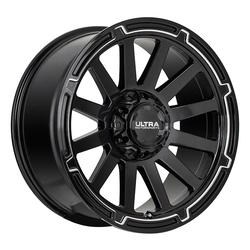 Ultra Wheels Ultra Wheels 218 Phantasm - Gloss Black w/ CNC Milled Accents & Clear Coat