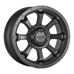 Ultra Wheels Ultra Wheels 219 Nemesis - Satin Black w/ Satin Clear Coat