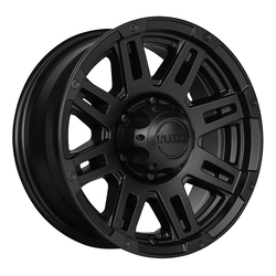 Ultra Wheels Ultra Wheels 226 Machine Trailer - Satin Black w/ Satin Clear Coat