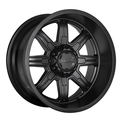 Ultra Wheels Ultra Wheels 229 Menace - Satin Black w/ Satin Clear Coat