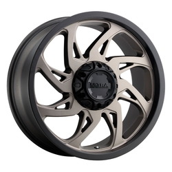 Ultra Wheels 230 Villain - Dark Satin Bronze w/Satin Black Lip Rim