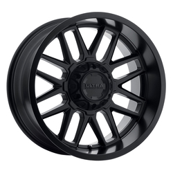 Ultra Wheels 231 Butcher - Satin Black with Satin Clear-Coat Rim