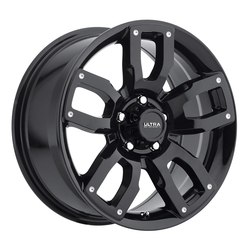 Ultra Wheels Ultra Wheels 251 Decoy CUV - Gloss Black w/ Milled Dimples & Clear Coat
