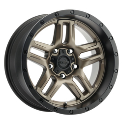 Ultra Wheels Ultra Wheels 258 Prowler Jeep - Dark Satin Bronze w/Satin Black Lip