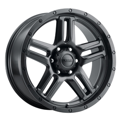 Ultra Wheels 258 Prowler Truck - Satin Black with Satin Clear-Coat Rim