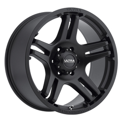 Ultra Wheels Ultra Wheels 264 Bully - Satin Black w/ Satin Clear Coat